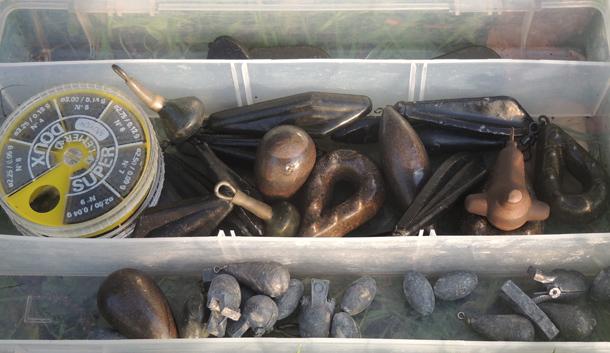 Plombs pêche carpe