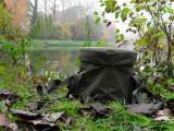 Matin légèrement brumeux sur l'ancien canal Bruxelles - Charleroi