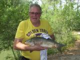 Entre cinq à six prise par jour toute belle mini 40 cm remise à l'eau aussitôt bonne journée à tous les pêcheurs